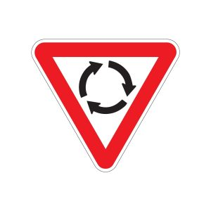Give Way Roundabout