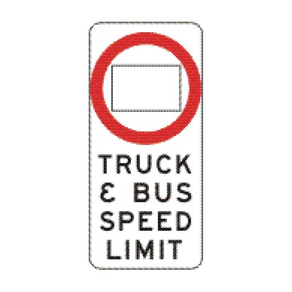 Truck & Bus Speed Limit (Variable)