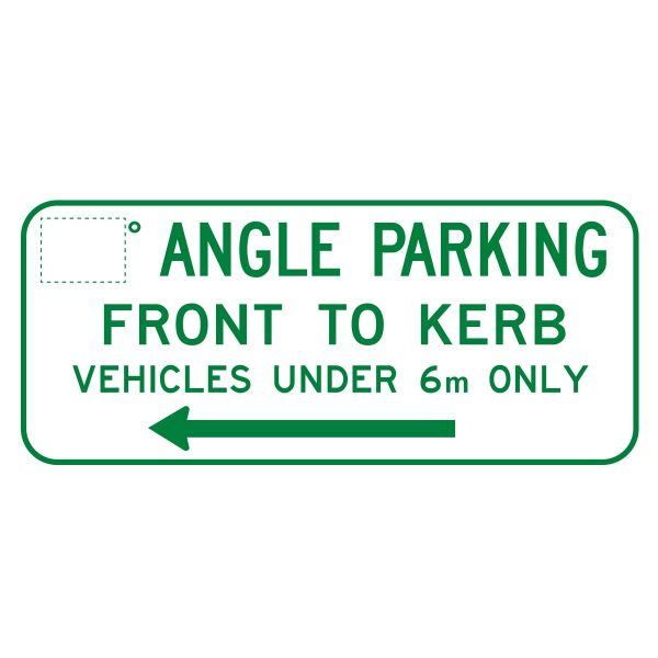 Angle Parking (Rear to Curb)