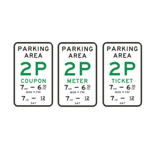 Parking Area (Coupon/Meter/Ticket)