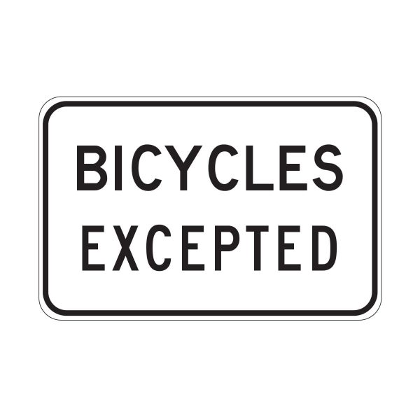 Bicycles Excepted
