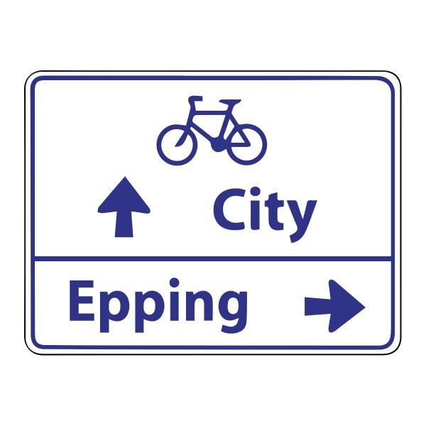 Advance Direction Bicycle Route