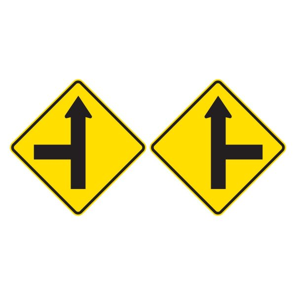 Side Road Intersection on straight
