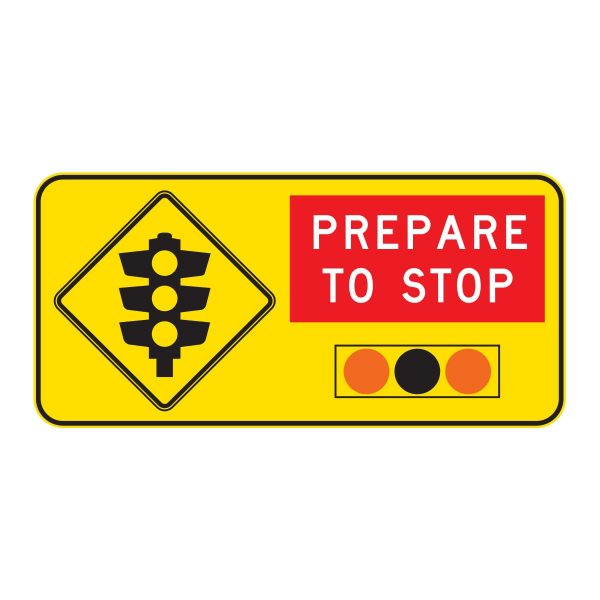 Prepare to Stop Traffic Signals