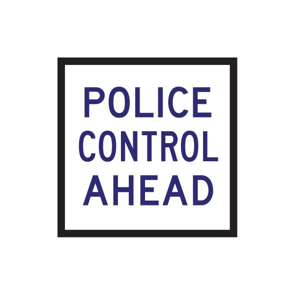 Police Control Ahead