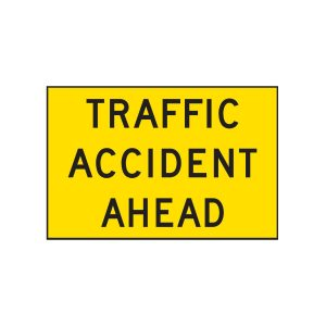 Traffic Accident Ahead