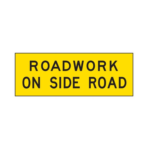 Roadwork on Side Road