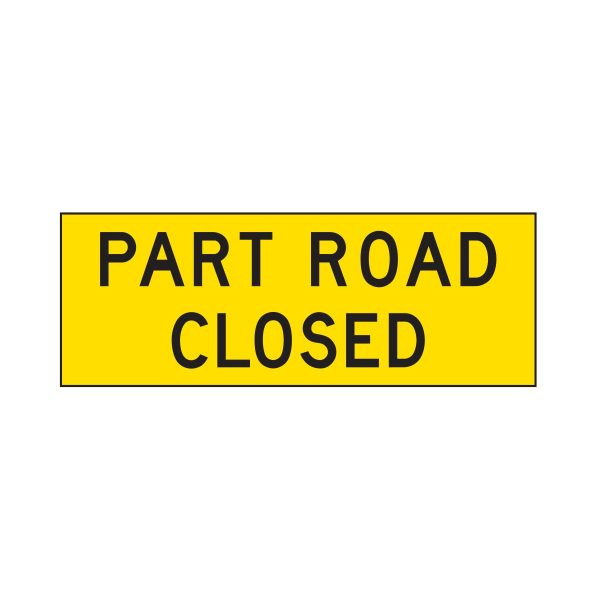 Part Road Closed