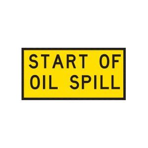 Start of Oil Spill