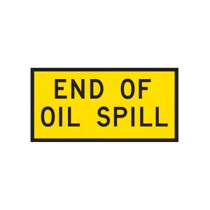 End of Oil Spill