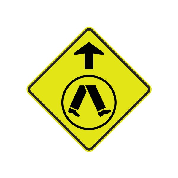 Pedestrian Crossing Ahead