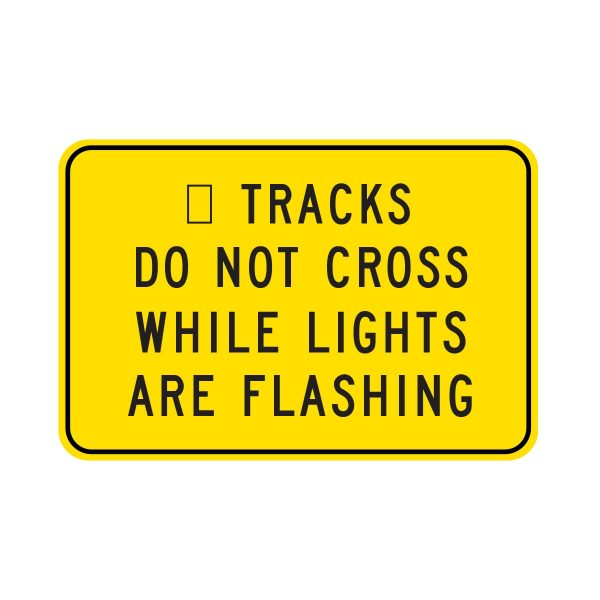 Tracks Do Not Cross While Lights Flashing