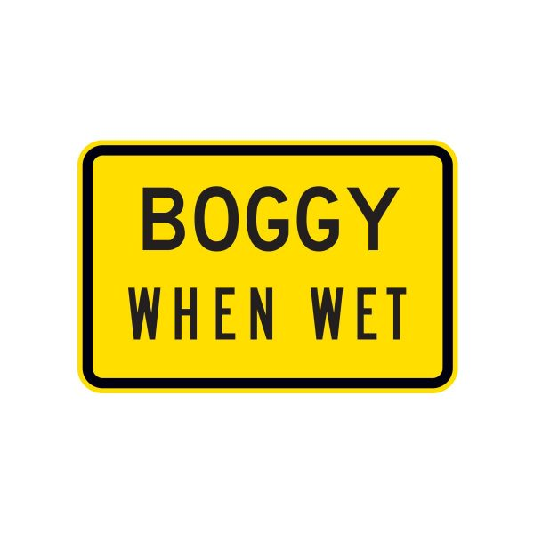 Boggy when Wet