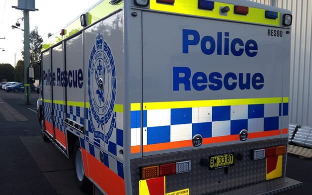 Vehicle Identification – NSW Police Rescue
